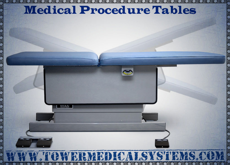 How medical procedure tables help doctors? | Tower Medical Systems | Scoop.it