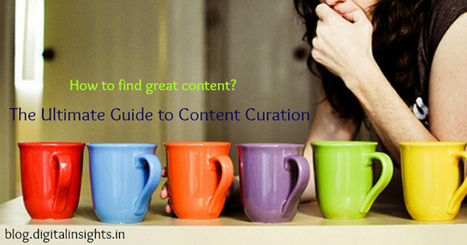 How to Find Great Content? The Ultimate Guide to Content Curation | Digitalt lärande (#digiskola) | Scoop.it