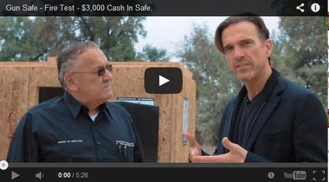 Gun Safe Fire Test by Sportsman Steel Safes   Gun Safes   Scoop.it