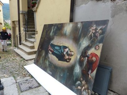 Recovery operations under way in Earthquake areas in central Italy | International Institute for Conservation of Historic and Artistic Works | News in Conservation | Scoop.it
