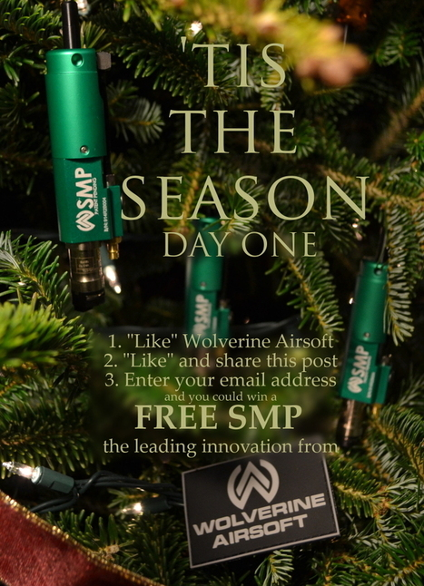 "The ""12 SMPs of Christmas"" Contest! - Wolverine Airsoft 