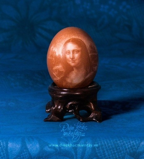 Young Vietnamese Artist Carves Portraits and Landscapes on Delicate Eggshells | Strange days indeed... | Scoop.it