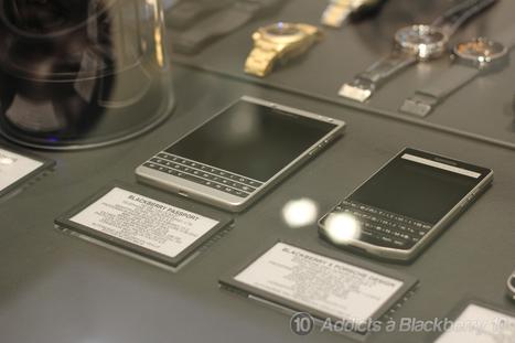 Le BlackBerry Passport Silver Edition dispo chez Colette | Addicts à Blackberry 10 | Scoop.it