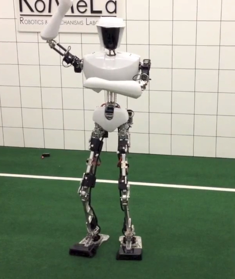 "TED Blog | Dennis Hong debuts a robot that dances to ""Gangnam Style"" 