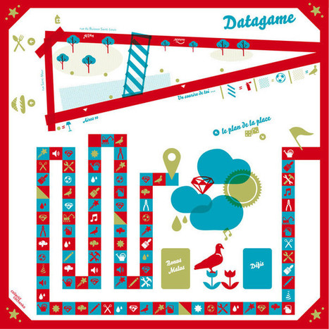DATAGAME - Da-ta-place, une place en action, Paris, 10e. | SeriousGame.be | Scoop.it