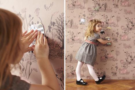 Магнетични дизайнерски детски тапети | Do u like interior design? | Scoop.it