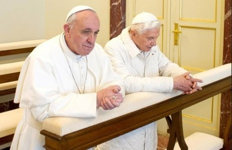 'We Are Brothers': New Pope, Old Pope Meet & Pray Together ... | Catholic Interest | Scoop.it