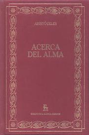 Aristóteles Acerca del Alma en pdf para descargar - Apuntes de ... | Aristóteles | Scoop.it