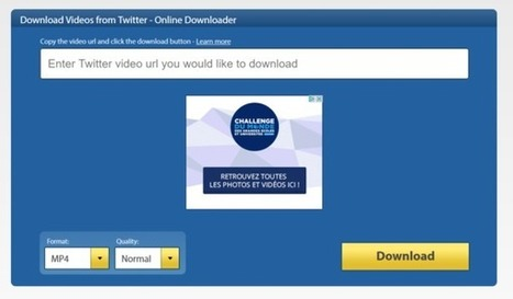 Comment télécharger les vidéos depuis les réseaux sociaux - Blog du Modérateur | Geeks | Scoop.it