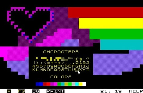 EDSCII - an ASCII/ANSI art tool   ASCII Art   Scoop.it