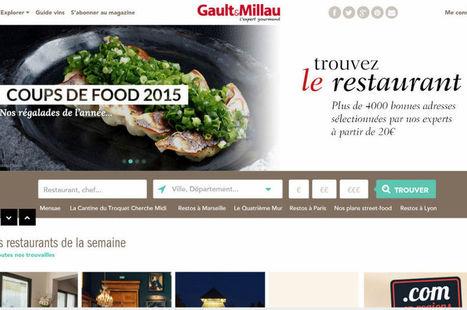 L'âge digital du guide gastronomique Gault & Millau | Digital Marketing Cyril Bladier | Scoop.it