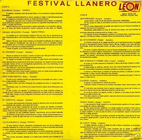 Hermanos Chirinos – Víctor Morillo – José Romero – Festival Llanero | joropo | Scoop.it