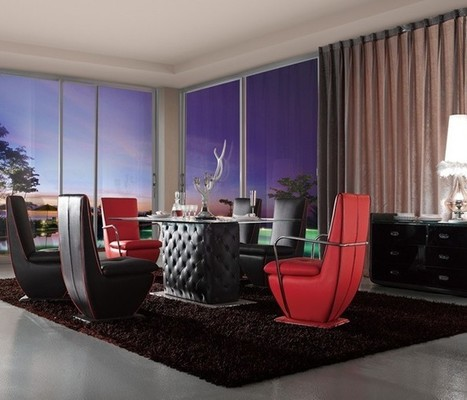 Contrast Hued Contemporary Living Room Furniture Sets | MeublesBH | Scoop.it