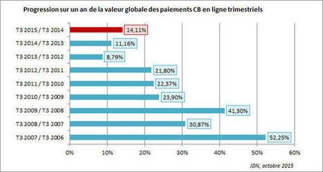 L'e-commerce français progresse de 14,1% au 3ème trimestre 2015 | E-Commerce | Scoop.it