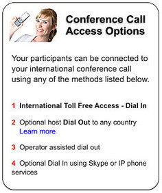 International Conference Calls | Communication Services | Scoop.it