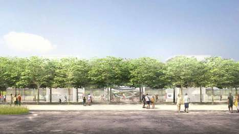 Apple Campus 2 to feature glass-walled visitor's center | Adam Williams | GizMag.com | @The Convergence of ICT & Distributed Renewable Energy | Scoop.it