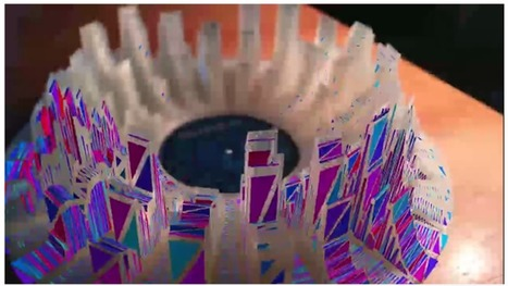 Watch Music Turn Into A 3D-Printed Augmented Reality Sculpture | audio branding | Scoop.it