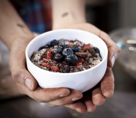 Raw Food Recipes - Chia Seed Porridge | Healthy Eating - Recipes, Food News | Scoop.it