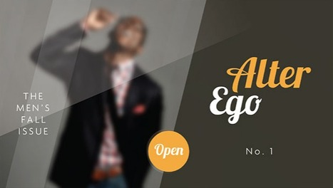 Alter Ego Magazine Template | E-Learning Examples | Scoop.it