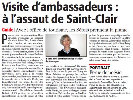 Visite du Mont Saint Clair | Sète Tourisme : les ambassadeurs-reporters sur le terrain | Scoop.it