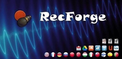 RecForge Lite - Audio Recorder - Applications Android sur Google Play | 100% e-Media | Scoop.it