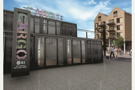 Giant shipping containers to house new food hub at Wapping Wharf | Vertical Farm - Food Factory | Scoop.it