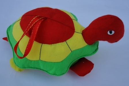 Silk turtle toy, ethically handmade by disadvantaged producers group | Craftworks Cambodia. Fair trade Crafts | Scoop.it