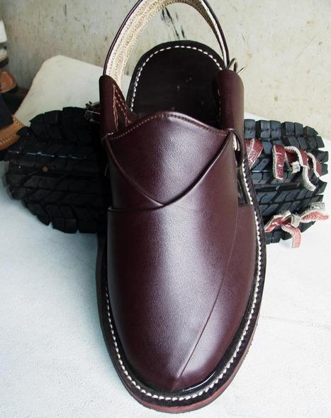 Balochi Noushki Chiwats (Sandals) | Handmade Shoes | Scoop.it