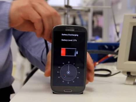 A smartphone that charges in 30 seconds: Engineers unveil new 'bio-battery' | metaphysics | Scoop.it