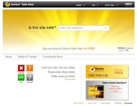 Is This Website Safe | Website Security | Norton Safe Web | ICT Security Tools | Scoop.it