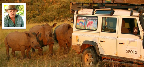 SPOTS Founder Peter Milton on Saving Rhino | Nikela: Stop the Rhino Poachers - Don't buy wildlife products | Saving All Animals | Scoop.it