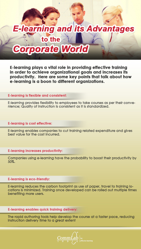What Makes E-learning the Choice of the Corporate Training World [Infographic] | Global autopoietic university (GAU) | Scoop.it