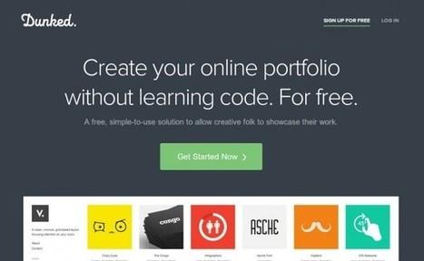 #dunked, donde la gente creativa muestra sus trabajos sin saber programar  #portfolio #online #recomiendo | Pedalogica: educación y TIC | Scoop.it