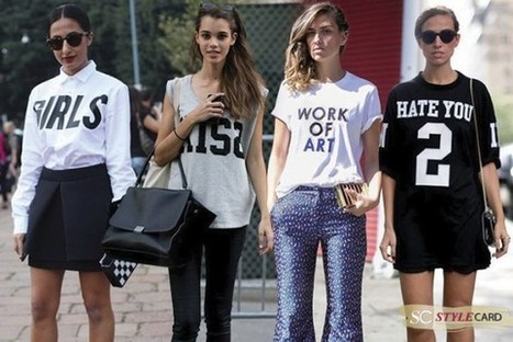 Trends: The Slogan Tee | StyleCard Fashion Portal | StyleCard Fashion | Scoop.it