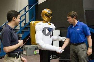 A Historical Video of First Space Robot Handshake | RevoSeek.com | Space Robots | Scoop.it