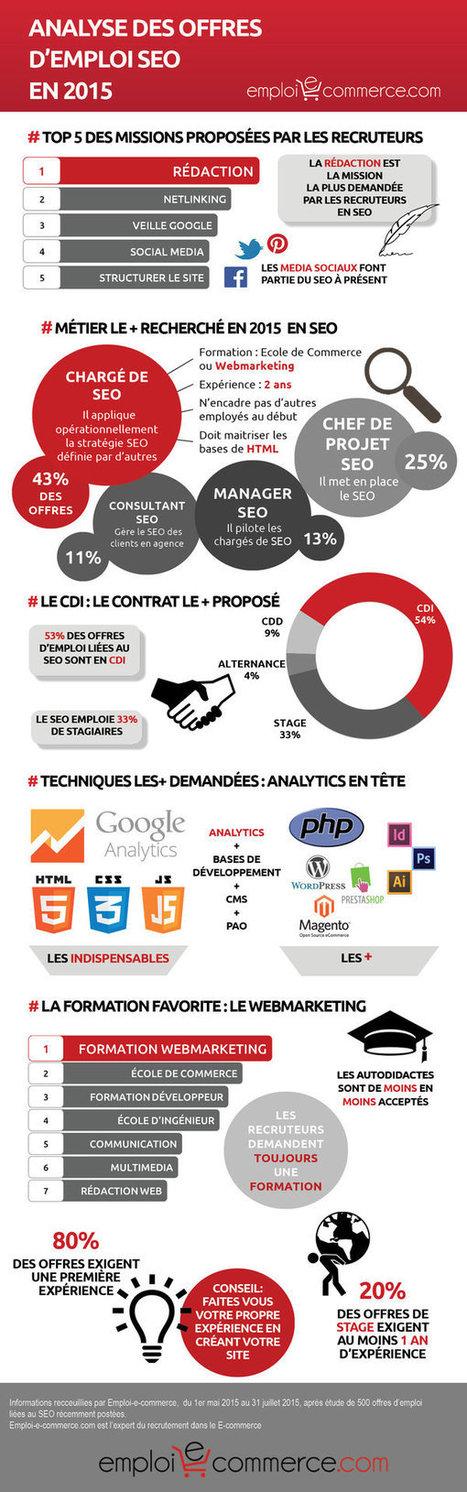 Infographie : les profils SEO les plus recherchés par les e ... - JDN | socioquid.fr | Scoop.it