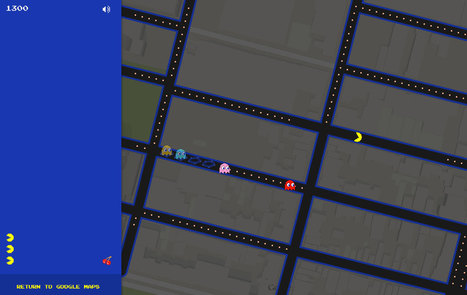 Distraction of the Day: You Can Now Play Pac-Man on Google Maps - The Daily What | Tudo o resto | Scoop.it