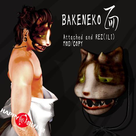 [HD]BAKENEKO MASK   亗  Second Life Fashion Addict  亗   Scoop.it