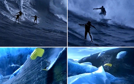 "The famous James Bond surfing scenes in ""007 - Die Another Day"" - SurferToday 
