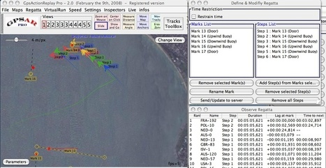 GpsActionReplay   Sailing and Regatta : Apps, SW & Tracking   Scoop.it