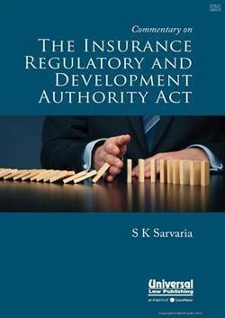 Commentary on The Insurance Regulatory and Development Authority Act - Buy Commentary on The Insurance Regulatory and Development Authority Act by S K Sarvaria at lowest price In India | meripustak... | Accounting Books - Law, Lega and Taxation Books | Scoop.it