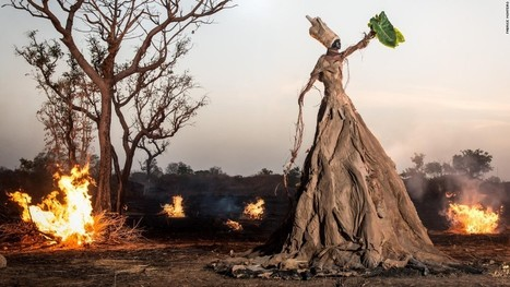 """Photographer Fabrice Monteiro and stylist Doulsy create """"The Prophecy""""   Gaia   Scoop.it"""