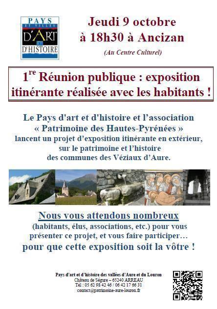 Projet d'exposition itinérante sur les Véziaux d'Aure - Pays d'Art et d'Histoire   Vallée d'Aure - Pyrénées   Scoop.it