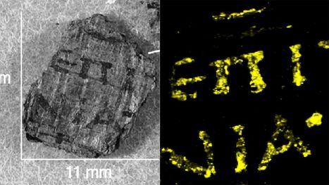 Avec quatre siècles d'avance, les Romains connaissaient l'encre métallique | #History #Research | 21st Century Innovative Technologies and Developments as also discoveries, curiosity ( insolite)... | Scoop.it