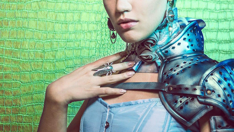 Medieval armor goes high fashion -- and looks fantastic | kavp | Scoop.it