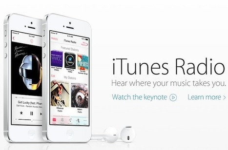 Apple Debuts iTunes Radio | Music Industry | Scoop.it