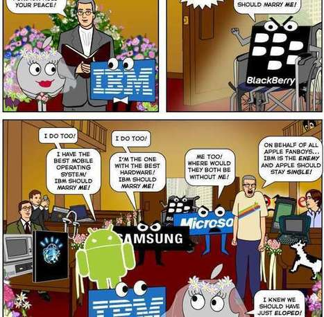 The Apple and IBM Marriage [COMIC] | Social Media, Marketing and Promotion | Scoop.it