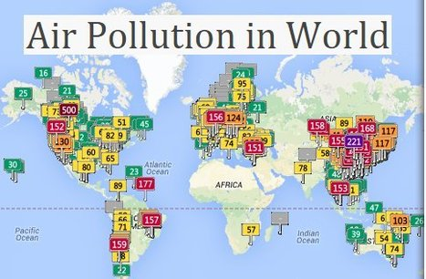 Air Pollution in World: Real-time Air Quality Index Visual Map | technologies | Scoop.it