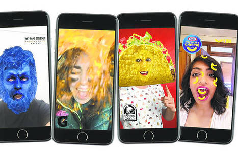 Snapchat: How Brands Reach Millennials | Digital Natives | Scoop.it