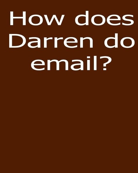 Why does Darren Rowse of Problogger promote emailing? | Small Business | Scoop.it